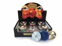 3-Part Amsterdam Grinder Various Colours Box Of 12