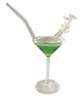 27cm Martini Glass Waterpipe Bong
