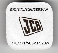 JCB 370/371 Silver Oxide Watch Cell Battery