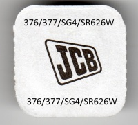 JCB 376/377 Silver Oxide Watch Cell Battery