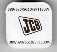 JCB 389/390 Silver Oxide Watch Cell Battery 1 Pack