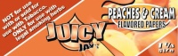 Juicy Jays Peaches & Cream 1 1/4 Size Flavoured Rolling Papers