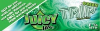 Juicy Jays Trip Green 1 1/4 Size Flavoured Rolling Papers