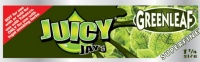 Juicy Jays SUPERFINE Green leaf 1 1/4 Size Flavoured Rolling Papers
