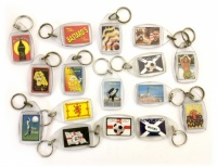 Keyrings Various Designs - Mixed Bag of 24