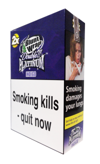 Blunt Wrap Double Platinum Indigo
