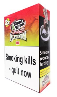 Blunt Wrap Double Platinum Red