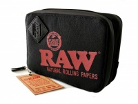 RAW Black Weekender Smell Proof Smokers Pouch