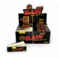 RAW BLACK Classic Standard Rolling Tips