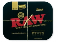 RAW BLACK Large Magnetic Tray Cover - 34cm x 28cm