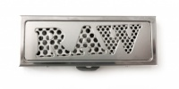 RAW Stainless Steel Shredder Case - 1 1/4 Size