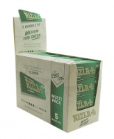 Rizla Green Regular Rolling Papers Multipack