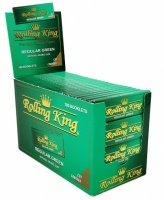 Rolling King Premium GREEN Regular Cut Corners Rolling Papers