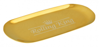 Rolling King GOLD Large Stainless Steel Rolling Tray