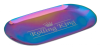 Rolling King MULTICOLOURED Small Stainless Steel Rolling Tray