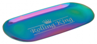 Rolling King MULTICOLOURED Large Stainless Steel Rolling Tray