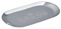 Rolling King SILVER Small Stainless Steel Rolling Tray