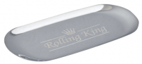 Rolling King SILVER Large Stainless Steel Rolling Tray