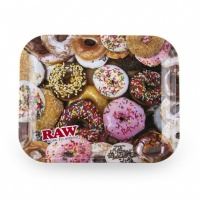 RAW Donut Metal Rolling Tray Medium
