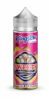 Kingston Fizzy Rhubarb & Custard Shortfill E-liquid