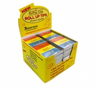 Rolling King Rolling Tips Box of 32 x 3
