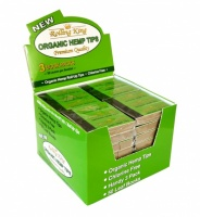 Rolling King Organic Hemp Rolling Tips Box of 32 x 3