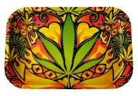Small Multi Leaf Metal rolling tray - 290 x 190mm