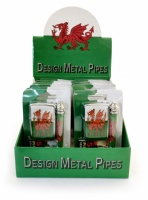 Wales Design Engineering Pipe with Lighter & Screens - Box of 12