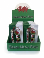 Wales Design Engineering Pipes with Grinder & Screens - Box of 12