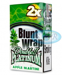 Blunt Wrap Double Platinum Green