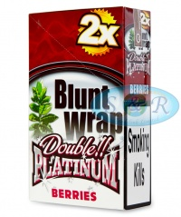 Blunt Wrap Double Platinum Silver