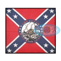 The South Will Rise Again Design Bandanas<br>Large Only