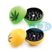 Leaf 2 Part Acrylic Ball Grinder
