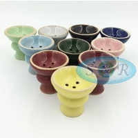 Spare Round Ceramic Bowl for Shisha Hookah Pipe