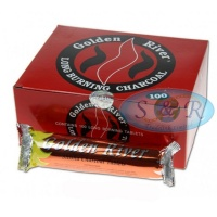 Golden River Long Burning Shisha Charcoal