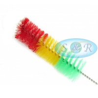 34cm Rasta Bong Waterpipe Brush
