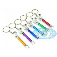 Small 7cm Keyring Key Chain Engineering Pipes