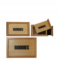 BUDDIES Wooden Sifter Storage Pollen Box