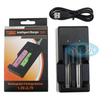 TOMO V6 Intelligent NI-MH Battery Charger 18650 AA AAA