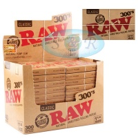 RAW Classic 300's 1¼ Size Creaseless Rolling Papers