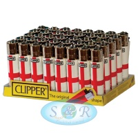 Clipper English Flag<br>Flint Lighters 40s