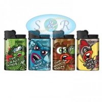 Djeep Creatures Design Disposable Lighters