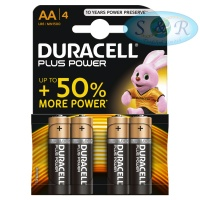 Duracell Plus Power Batteries Size AA