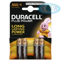 Duracell Plus Power Batteries Size AAA