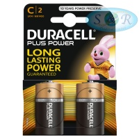 Duracell Plus Power Batteries Size C