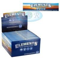 Elements Connoisseur King Size Slim Rolling Papers & Tips