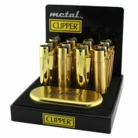 Clipper Metallic Gold