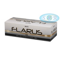 Flarus White Empty King Size Cigarette Filter Tubes