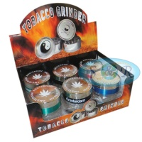 Amsterdam Design 3 Part 50mm Metal Grinder