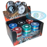 Amsterdam Design 4 Part 50mm Metal Grinder